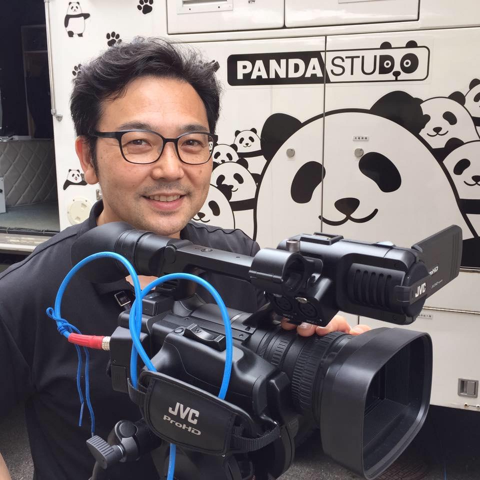 パンダスタジオスタジオ構築担当 林純一