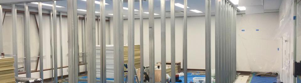 スタジオ構築事業(防音工事・照明工事・機材設置)
