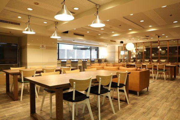 パンダスタジオカフェは落ち着いた快適な空間です。