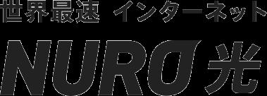 世界最速インターネット接続 NURO光