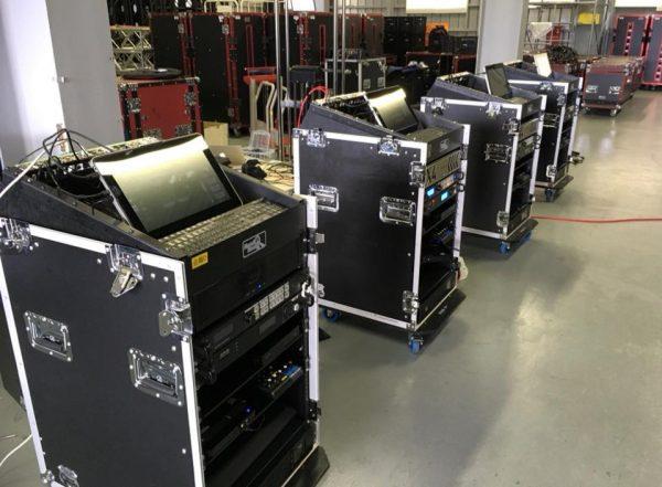 3×3.EXE PREMIER の中継システムが完成。毎週4会場で活躍。