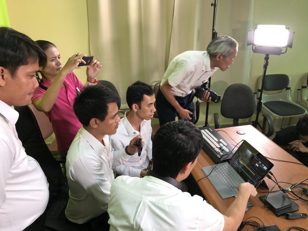 今後SAJの現地スタッフと教育省の技術スタッフが協力してコンテンツ制作に取り組むことになる