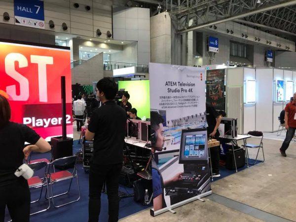 DSJ2018でBlackmagicDesignの新製品群を展示