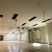 パンダスタジオ本社各町工事:天井の貼り替え完了